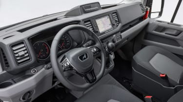 MAN TGE van interior