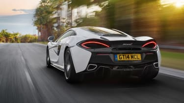 McLaren 570GT - rear