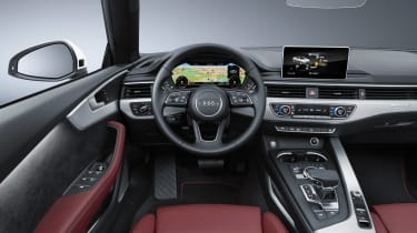 New Audi A5 Cabriolet 2017 dash