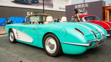 Despite the Corvette looks, the Songsan SS Dolphin is an EV