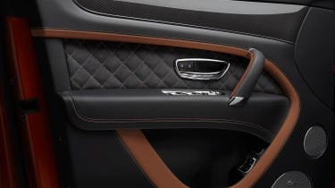 Bentley Bentayga Speed - door detail