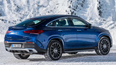 Mercedes GLC 400 d Coupe - rear 3/4 static