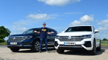 VW Touareg LT choice