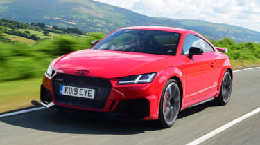 Audi TT - tracking