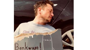 Tesla's bankruptcy claim