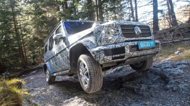 Mercedes G-Class prototype - front off-road