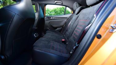 Renault Megane R.S. - rear seats