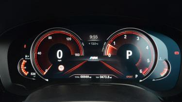 BMW 6 Series GT - Sport dials