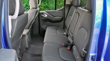 There is ample room to carry five passengers in decent comfort.