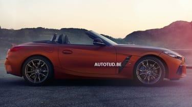 New BMW Z4 side profile