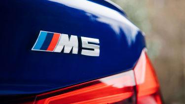 New BMW M5 - badge