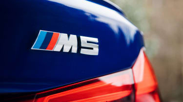 New BMW M5 - badge