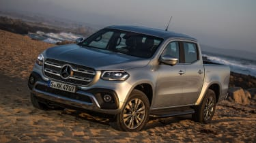 Mercedes X-Class - front static
