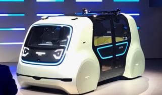 Volkswagen Sedric - front show