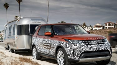 New Discovery towing