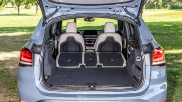 BMW X1 - boot seats down