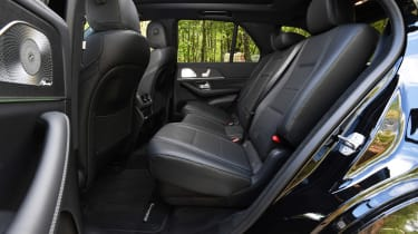 Mercedes GLE - rear seats
