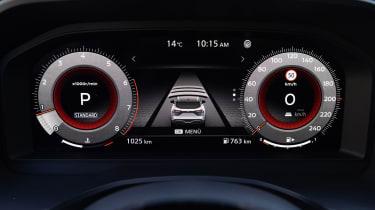 Nissan Qashqai - dials