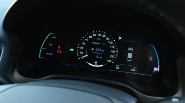 Hyundai Ioniq Plug-in long term - first report dials
