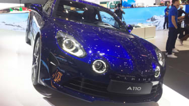 Alpine A110 Legende header