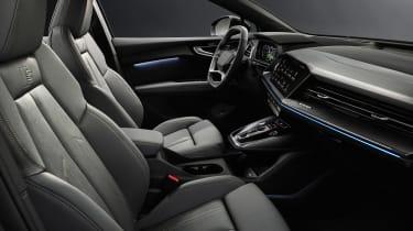 Audi Q4 e-tron - front seats