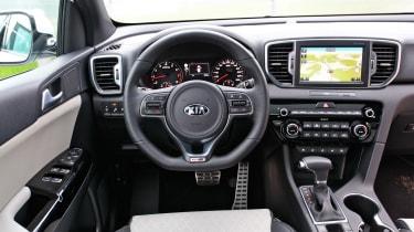 New Kia Sportage SUV 2016 - dashboard