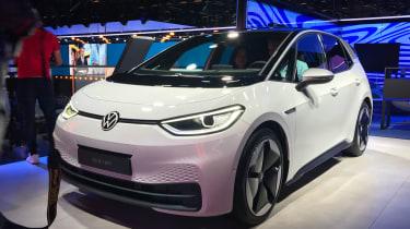 Volkswagen ID.3. - front 3/4 static Frankfurt