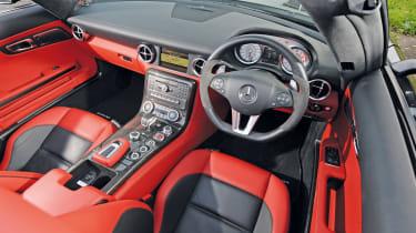Mercedes SLS AMG Roadster interior