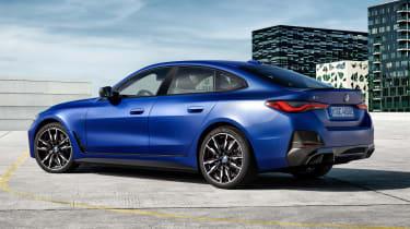 BMW i4 - rear static