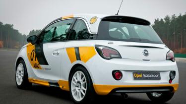 Opel Adam R2 rally car front