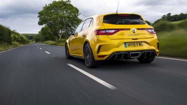 Renault Megane RS 300 Trophy rear tracking