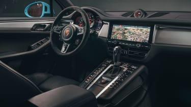 Porsche Macan - cabin