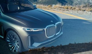 BMW X7 Concept - front grille