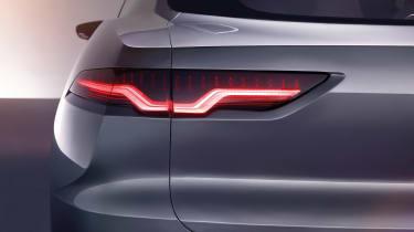 Jaguar I-Pace - studio rear light detail