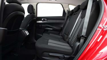 Kia Sorento - middle row seating