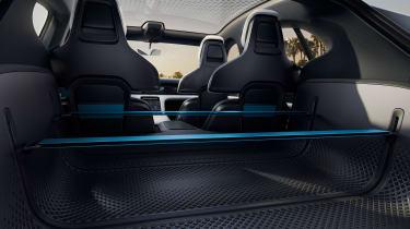 Porsche Mission E Cross Turismo - cabin