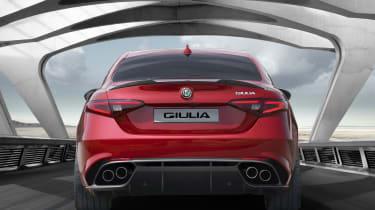 Alfa Romeo Giulia - rear