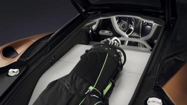 McLaren GT - rear storage