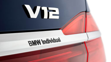 BMW 7 Series THE NEXT 100 YEARS - badge