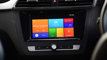 MG ZS - infotainment