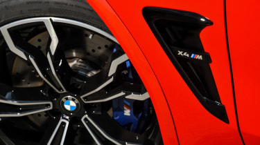 BMW X4 M Competition - air vent