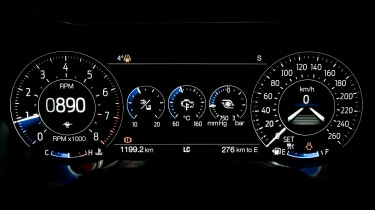 Ford Mustang EcoBoost Convertible - dials
