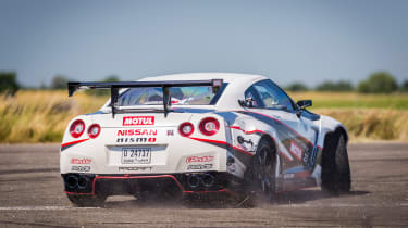Nissan GT-R 1,390bhp drift car - drift 5
