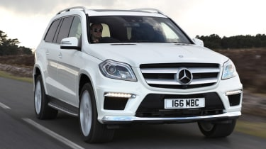 The Mercedes GL is a large SUV that combines lots of space with huge refinement.