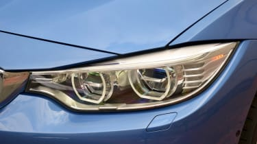 BMW 4 Series Gran Coupe 2014 light