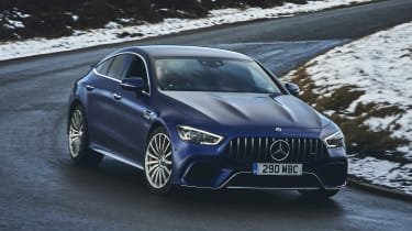 Mercedes-AMG GT 4-Door Coupe front