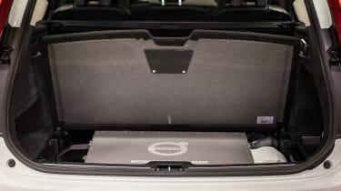 Autonomous Volvo XC90 boot