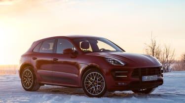 Porsche Macan Performance Package - front quarter