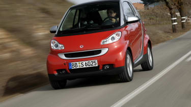 Smart ForTwo Cabriolet front tracking