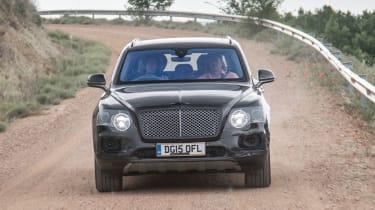Bentley Bentayga prototype first drive - front